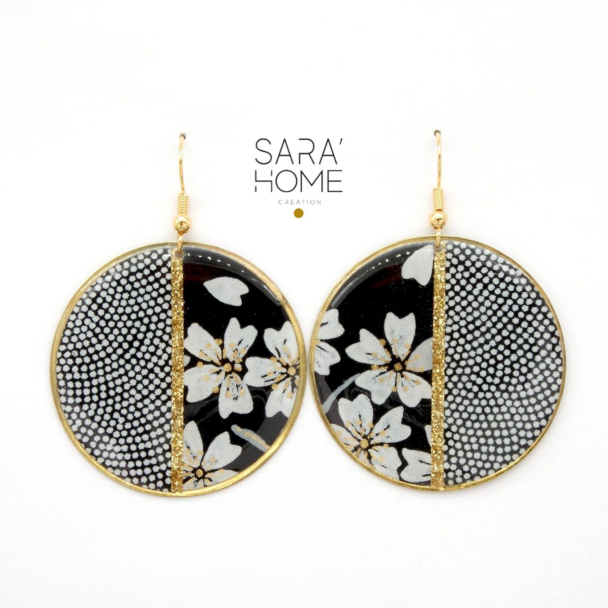 boucles d oreille Sarah Home